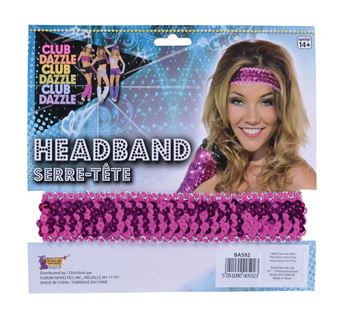 Picture of Diadema Disco rosa