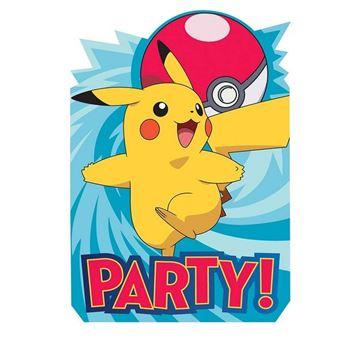 Picture of Invitaciones Pokémon (8)