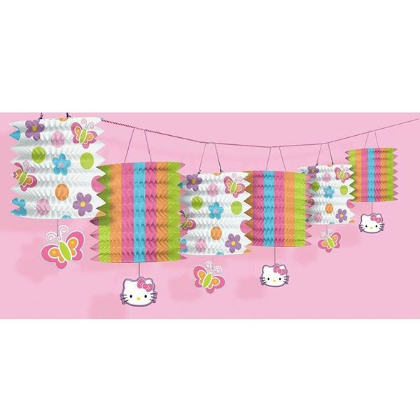 Imagens de Guirnalda farolillos Hello Kitty