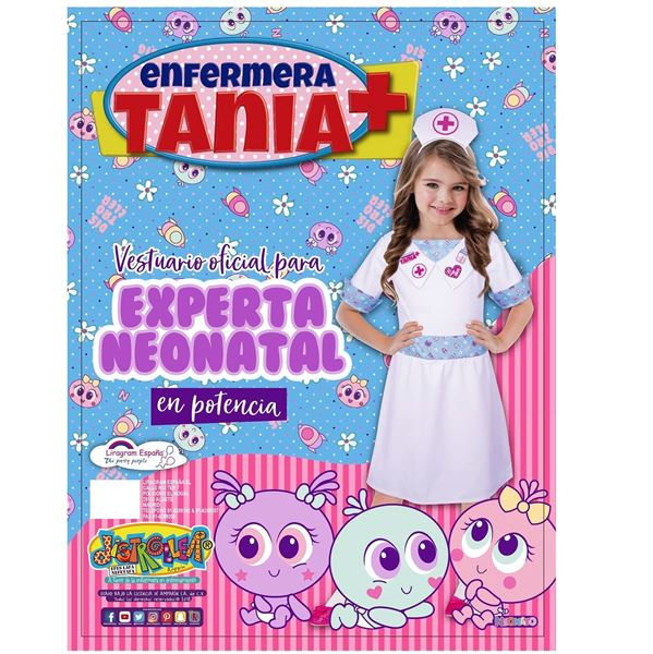 Imagen de Disfraz Distroller Enfermera Tania (7-8 años)
