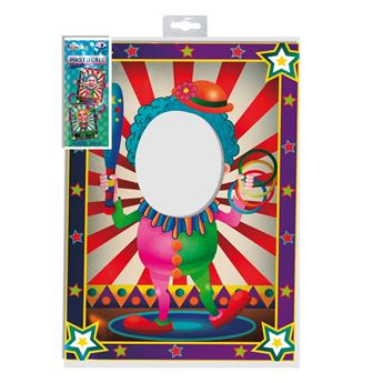 Picture of Accesorio photocall Payaso circo reversible