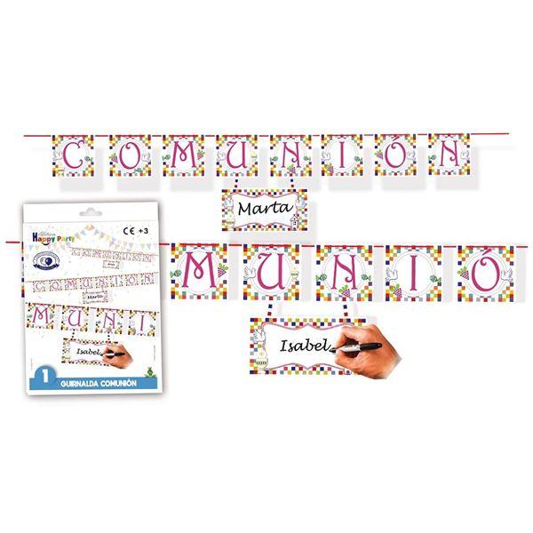 Imagens de Guirnalda comunión niña letras (1.70m)