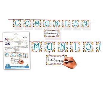 Imagen de Guirnalda comunión niño letras (1.70m)