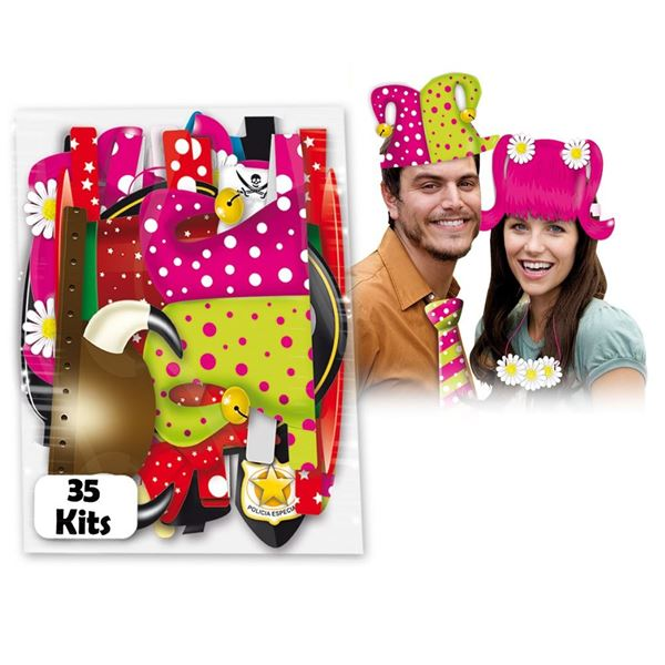 Imagens de Accesorios photocall Sombreros divertidos (35)