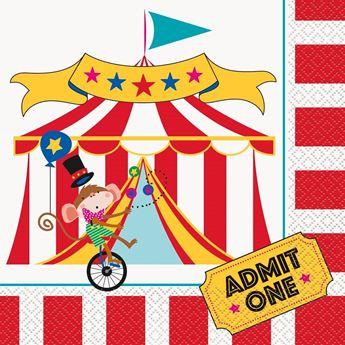 Imagens de Servilletas circo infantil (16)