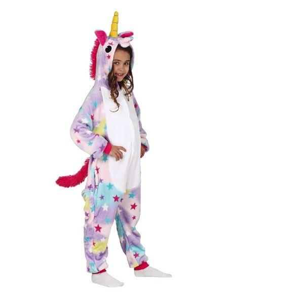 Picture of Disfraz Pijama de unicornio Kigurumimi (5-6 años)