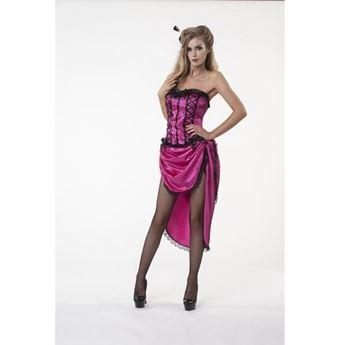 Imagens de Disfraz Showgirl Rosa Deluxe ( Talla M)