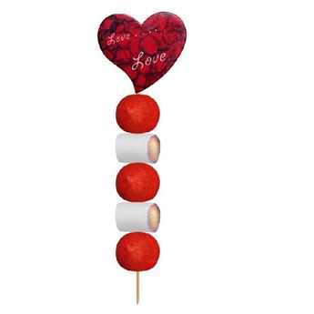 Picture of Brocheta chuches Corazón Love