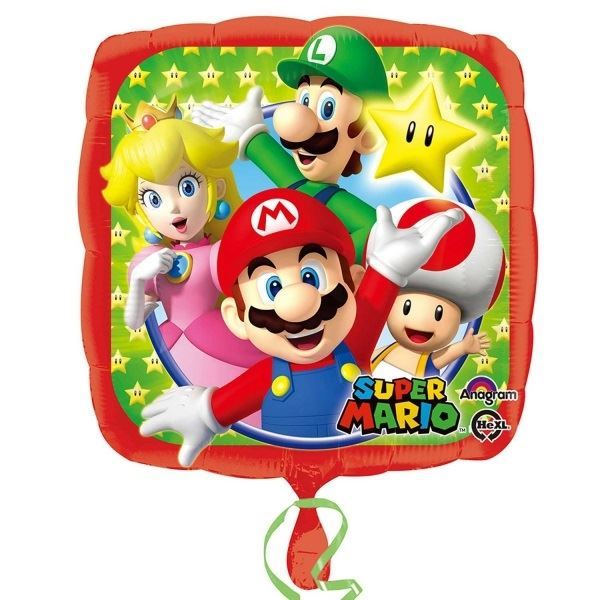 Picture of Globo Super Mario Bros y amigos