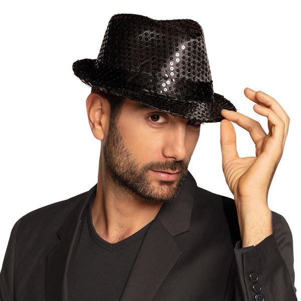 Imagens de Sombrero Negro lentejuelas Pop