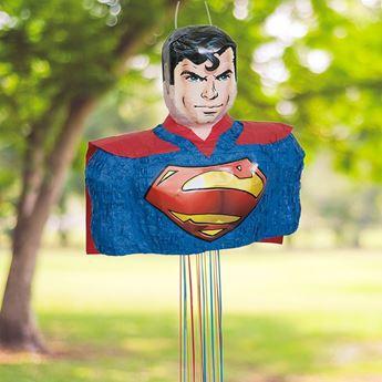 Imagens de Piñata Superman 3D