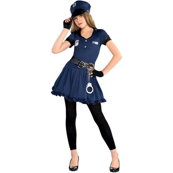 Imagens de Disfraz policía niña (6-8 años)