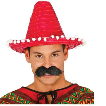 Picture of Sombrero mexicano rojo