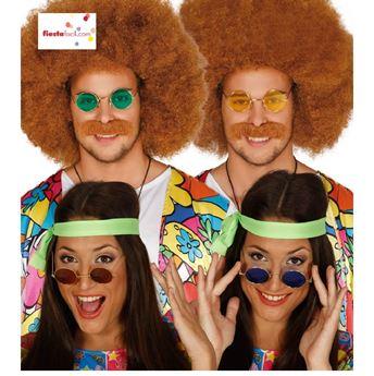 Imagens de Gafas hippie Surtidas colores