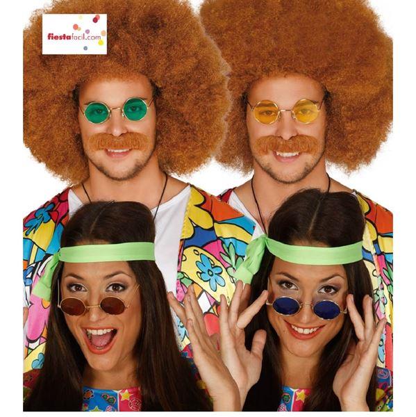 Picture of Gafas hippie Surtidas colores