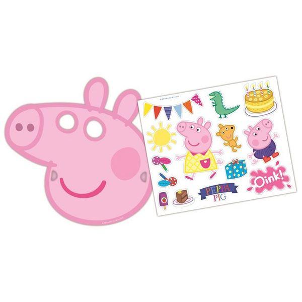 Imagens de Caretas Peppa Pig con pegatinas