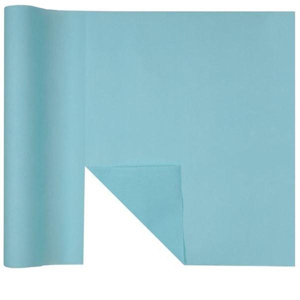 Picture of Camino de mesa 3 en 1 azul claro