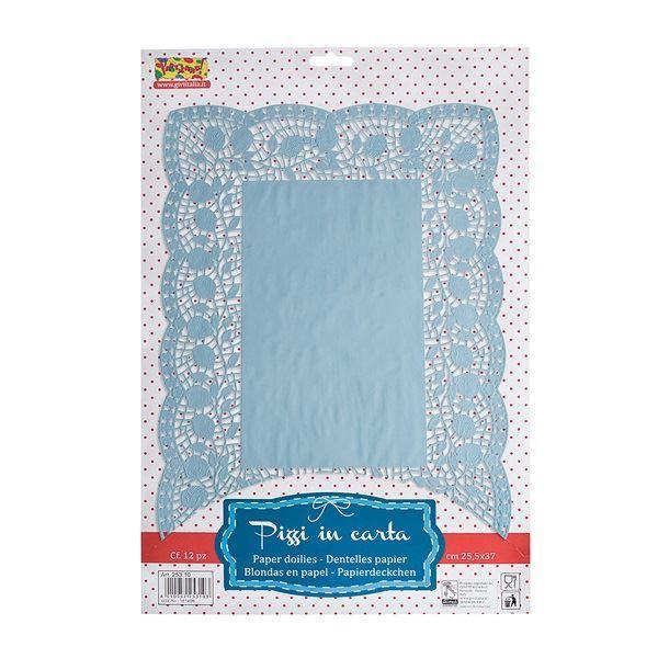 Picture of Blondas Azules rectangulares (10)