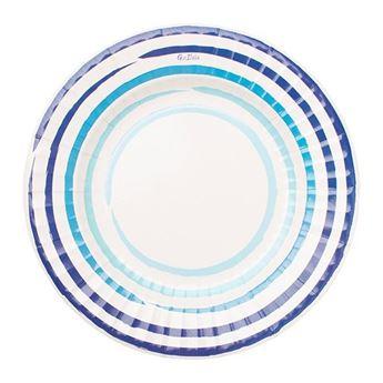 Imagen de Platos mediterráneo azul mediano (8)