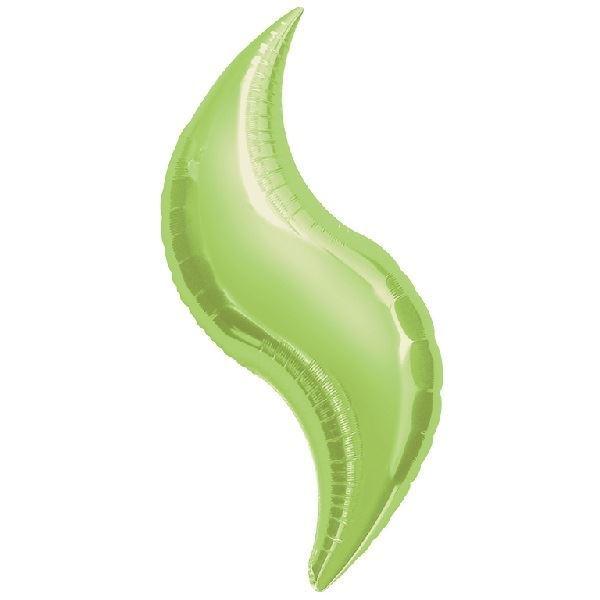 Imagen de Globos curva verde claro 71cm (3)
