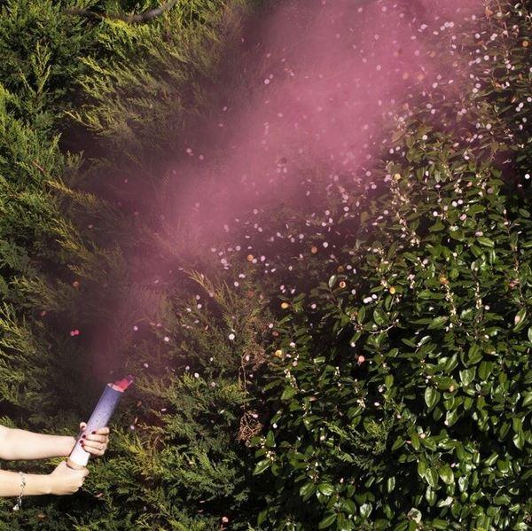 Imagens de Lanzador de humo y confeti Niña revelación de género