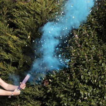 Picture of Lanzador de humo y confeti Niño revelación de género