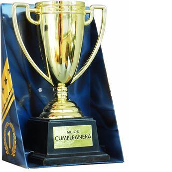 Imagens de Trofeo copa Mejor Cumpleañera