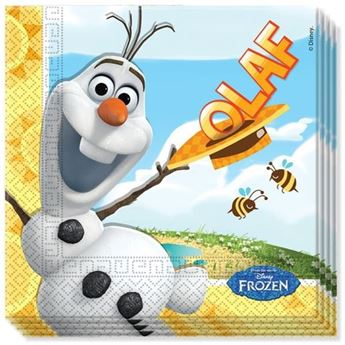 Picture of Servilletas Frozen Olaf Disney papel (20)