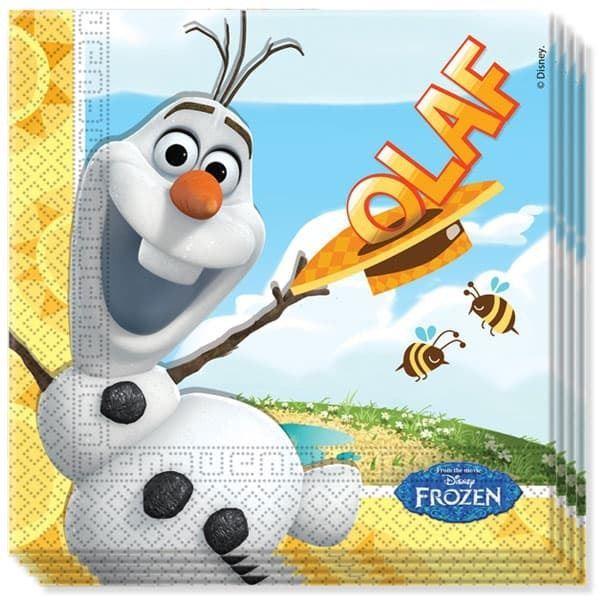 Imagen de Servilletas Frozen Olaf Disney papel (20)