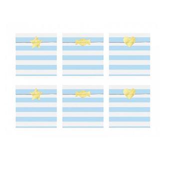 Imagen de Bolsitas dulces azul claro papel (6)
