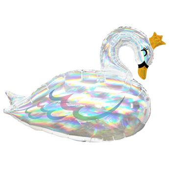 Picture of Globo forma Cisne iridiscente