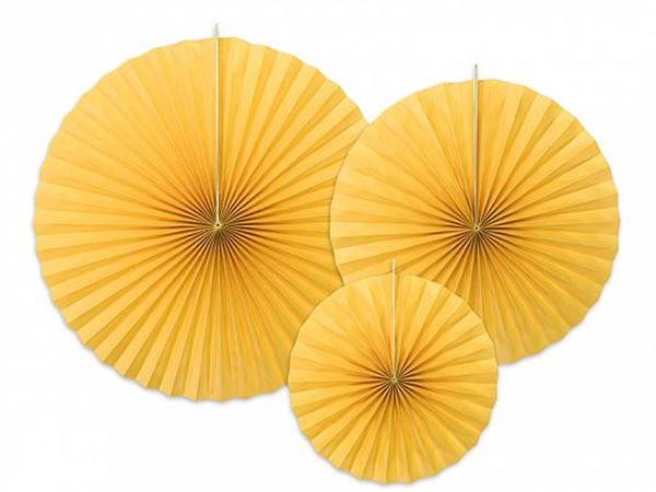 Picture of Decorados abanicos color Amarillo (3)