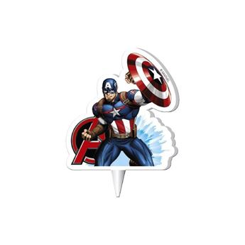 Imagens de Vela Vengadores Capitán America