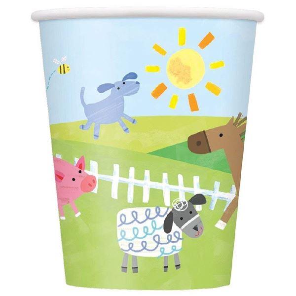 Imagens de Vasos Fiesta en la granja infantil (8)