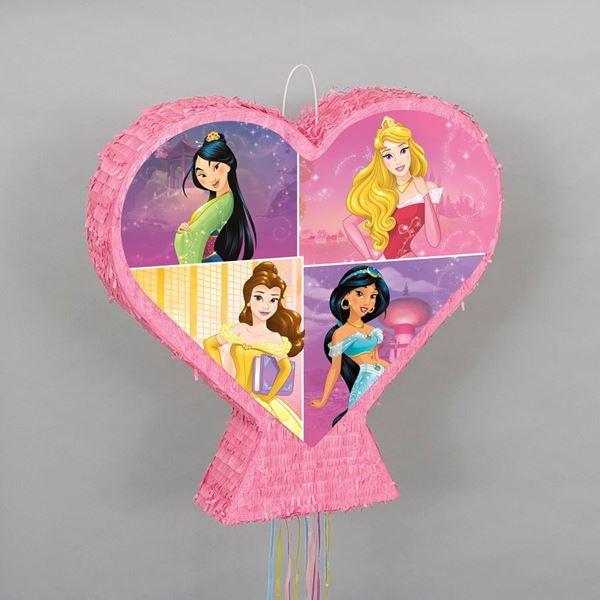 Imagen de Piñata Princesas Disney 3D