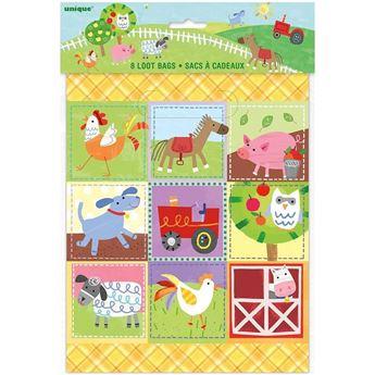 Imagens de Bolsas chuches fiesta en la granja infantil (8)