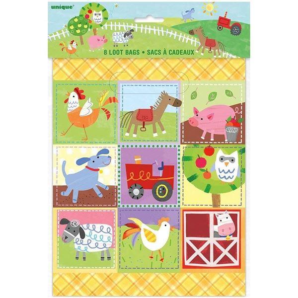 Imagen de Bolsas chuches fiesta en la granja infantil (8)