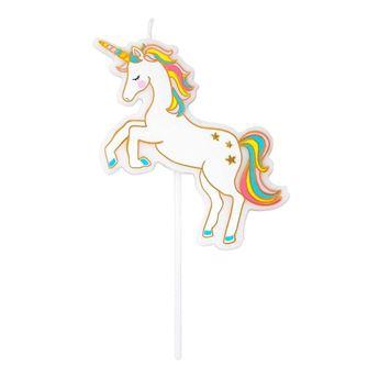 Imagen de Vela Unicornio colores (1)
