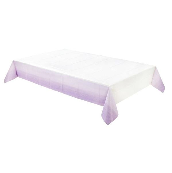 Picture of Mantel Lila y blanco papel