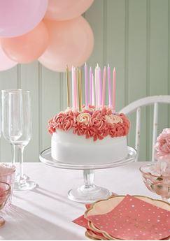 Picture of Velas Elegantes rosas con dorado (16)