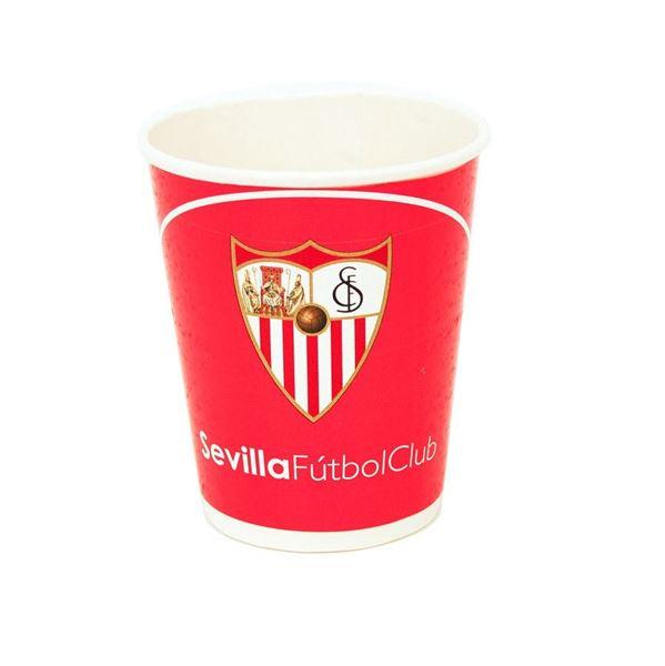 Picture of Vasos del Sevilla FC cartón (8)