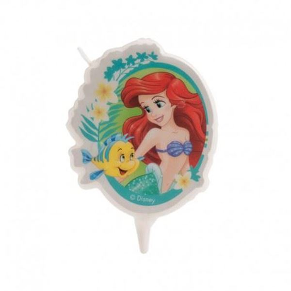 Imagens de Vela Ariel Disney Cumpleaños la sirenita