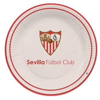 Imagen de Platos del Sevilla FC cartón (8)