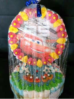 Picture of Tarta de chuches Cars Disney (1200gr)