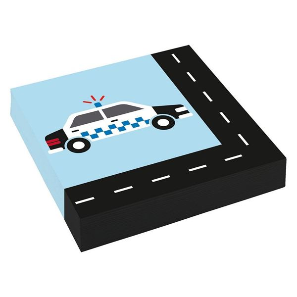 Imagens de Servilletas coches de juguete papel (20)