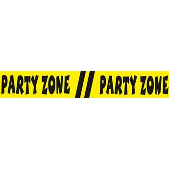 Imagen de Cinta Barrera Party Zone cumple (15m)