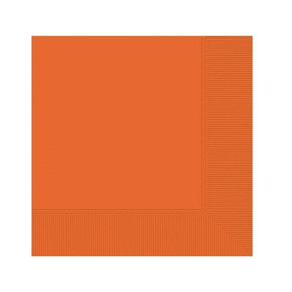 Imagen de Servilletas naranja pequeñas (20)
