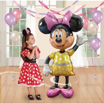 Imagen de Globo andante Minnie Mouse Amarillo