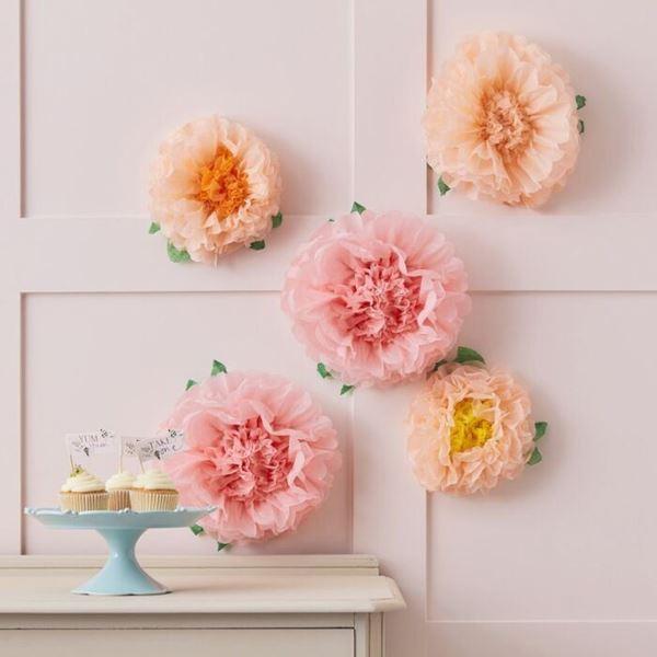 Imagens de Flores pastel de papel (5)