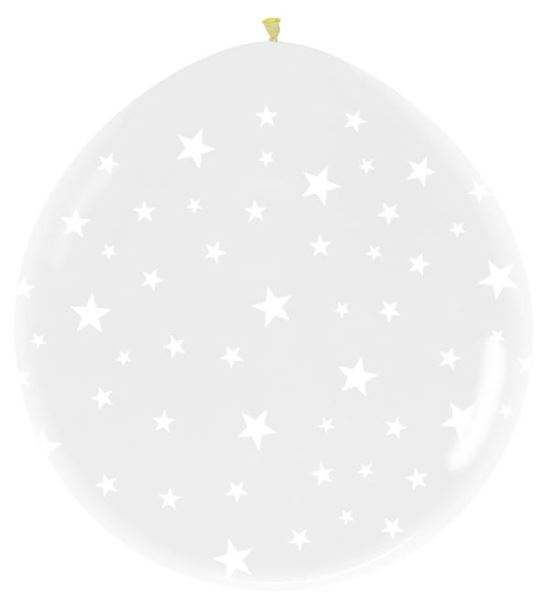 Picture of Globos cristal estrellas pequeños (10)